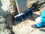 電柱用ポールサポーター